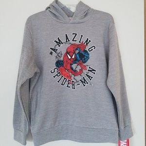 NWT Big Boy  Marvel Amazing Spiderman Warm Hoodie